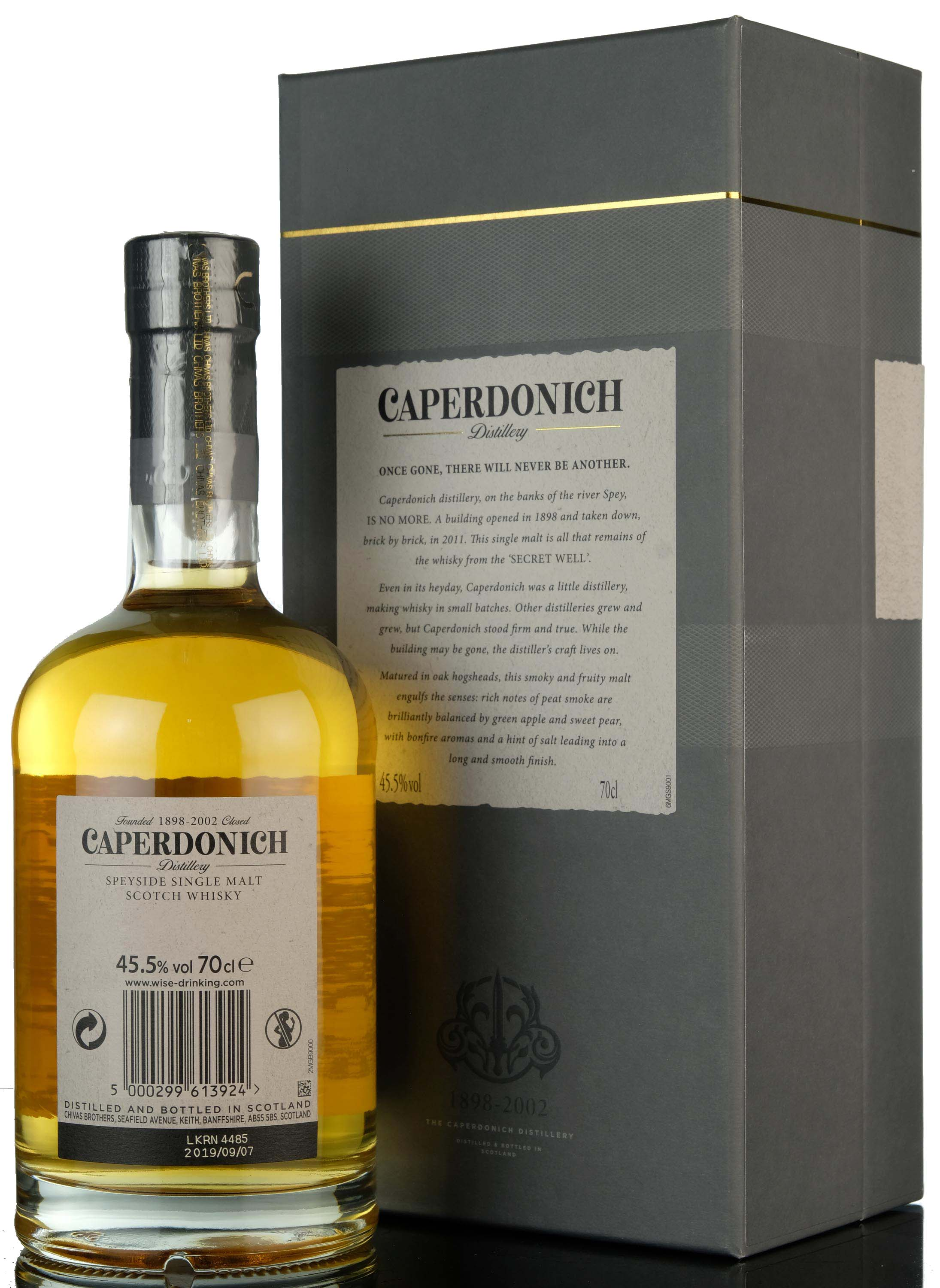 caperdonich 25 year old - peated