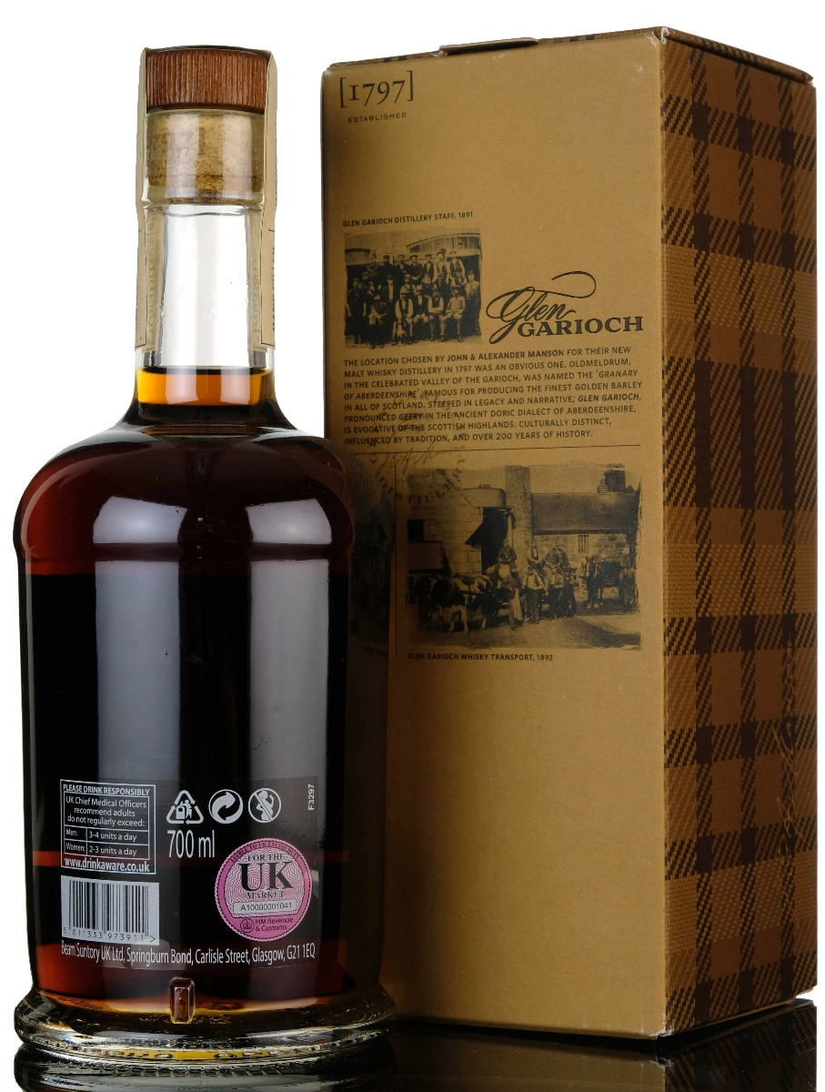 glen garioch 1997-2019 - 21 year old -  hand filled - single cask 9