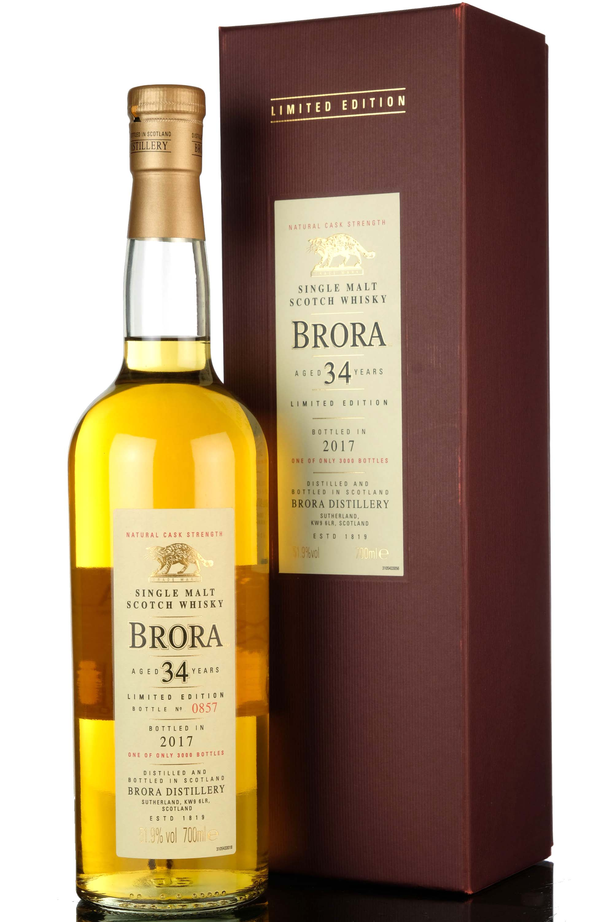 brora 34 year old - special release 2017