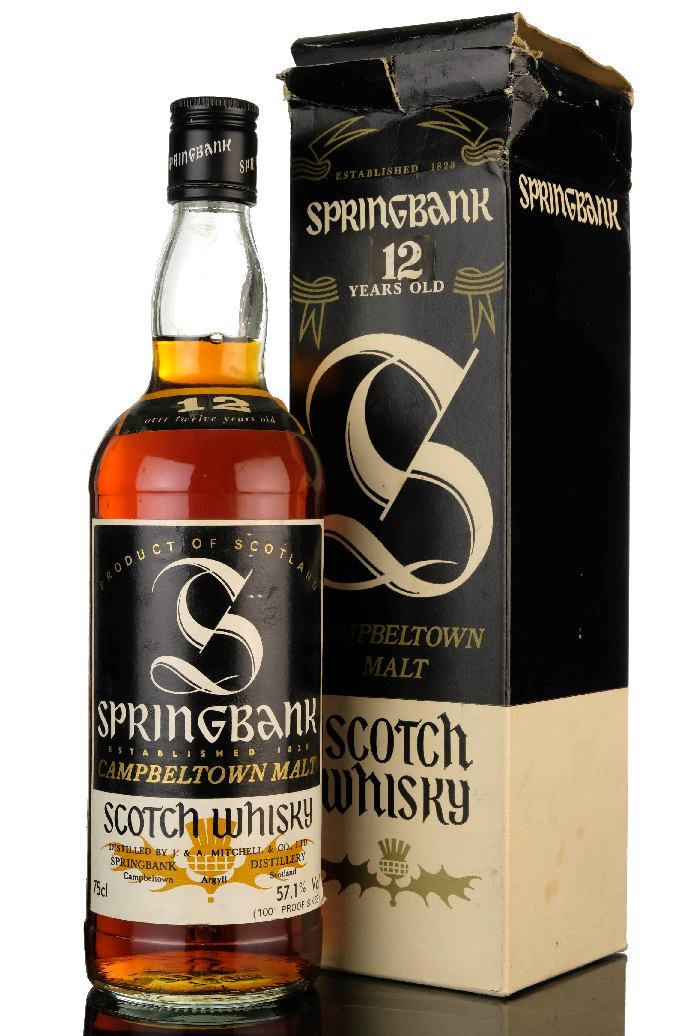 springbank 12 year old - samaroli 57.1% - uk version