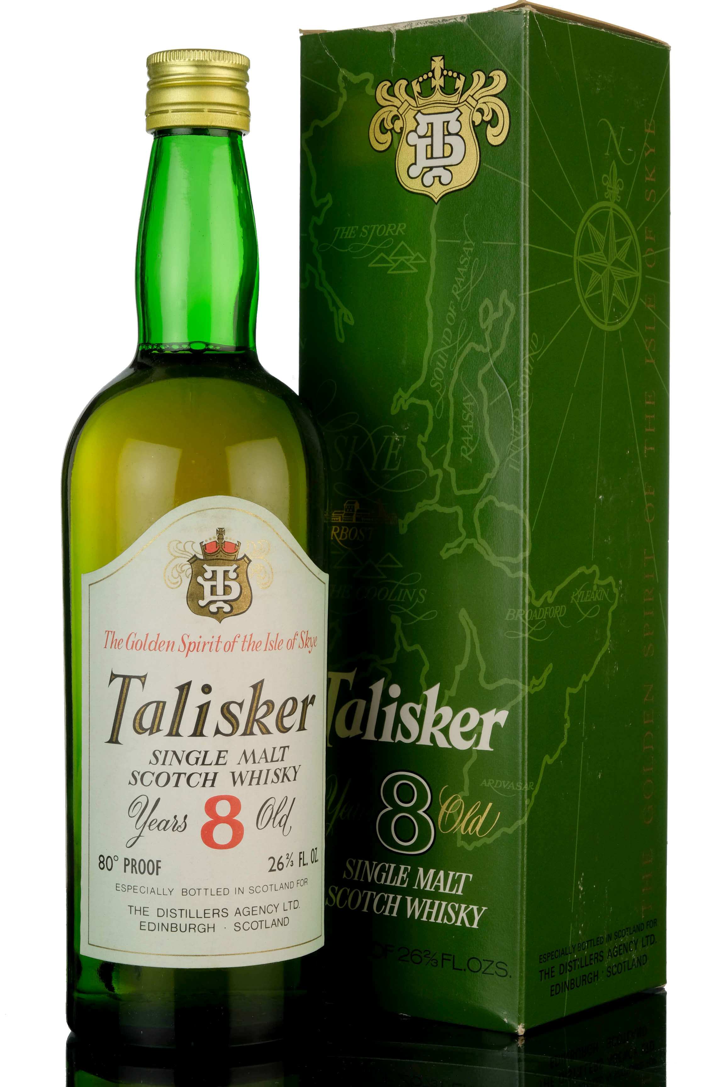 talisker 8 year old - late 1960s
