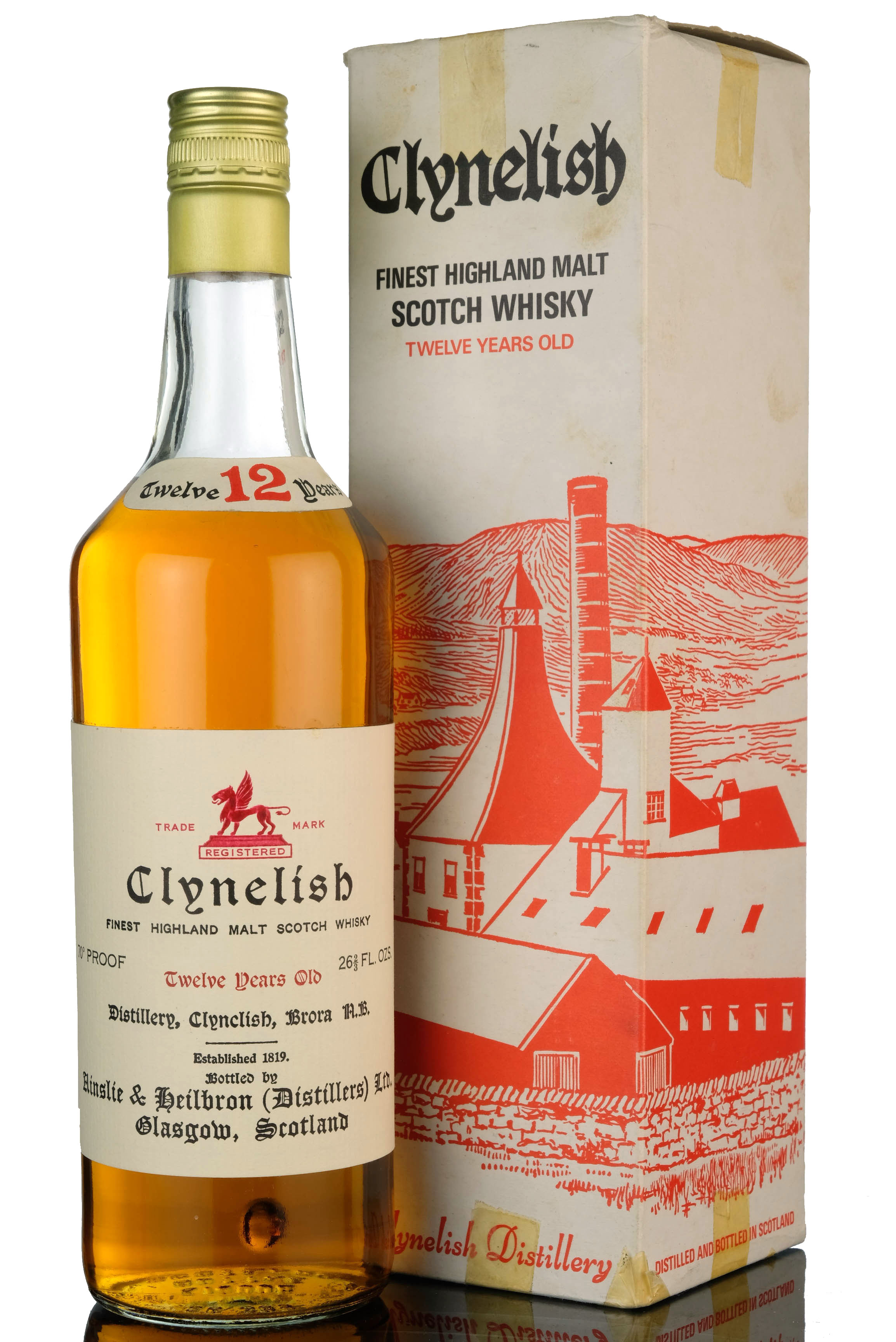 clynelish 12 year old - 1970s