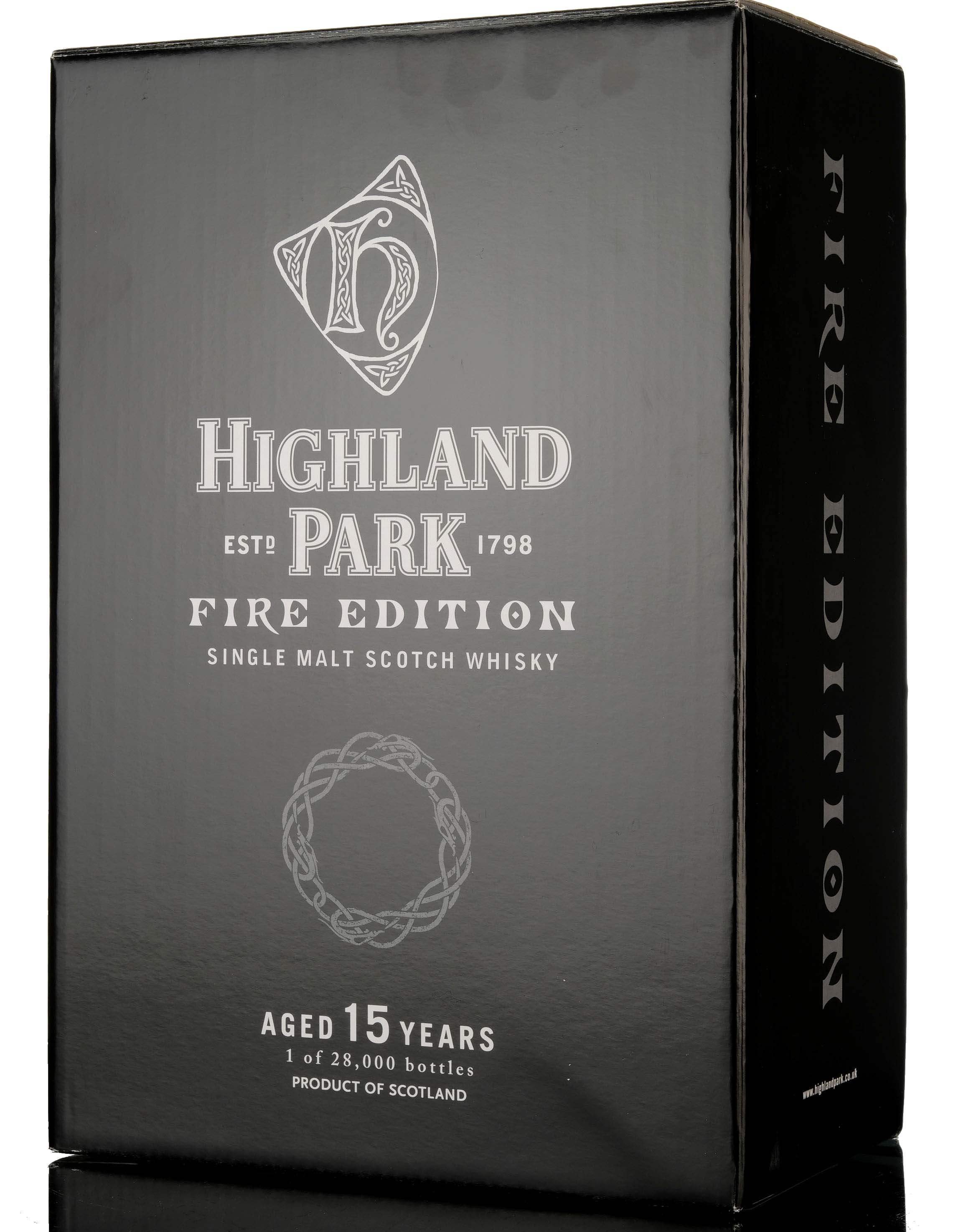 highland park 15 year old - fire