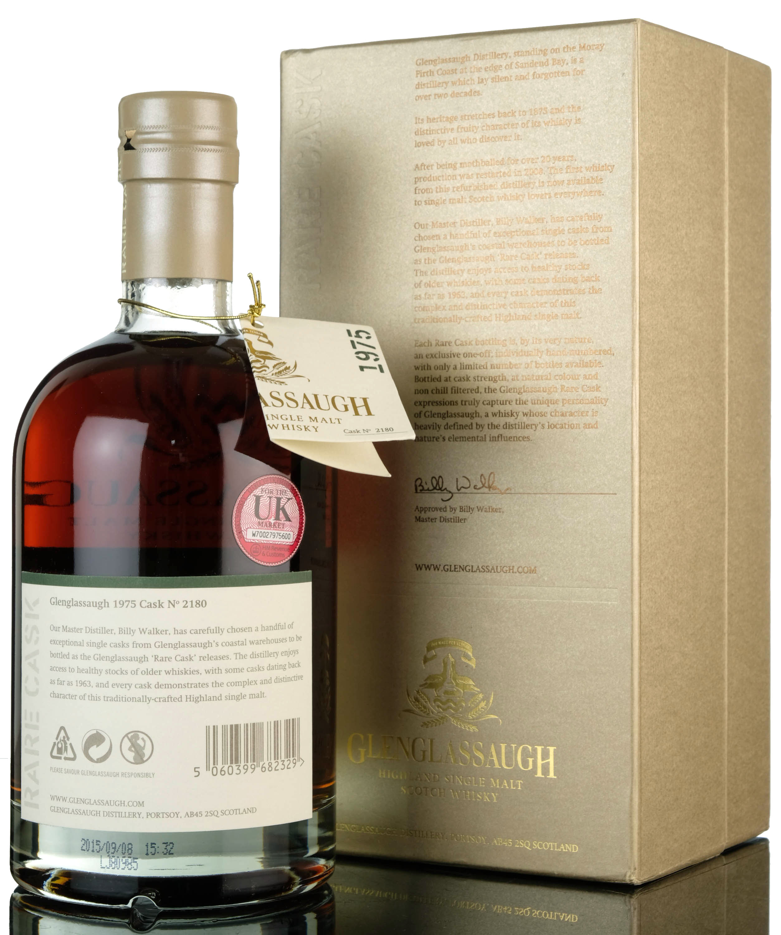 glenglassaugh 1975-2015 - 40 year old - single cask 2180