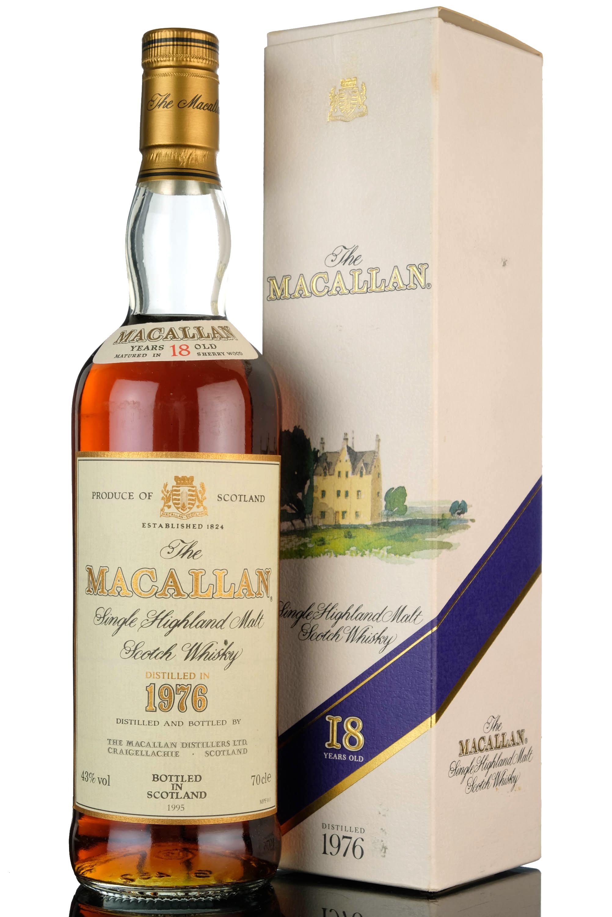 macallan 1976-1995 - 18 year old