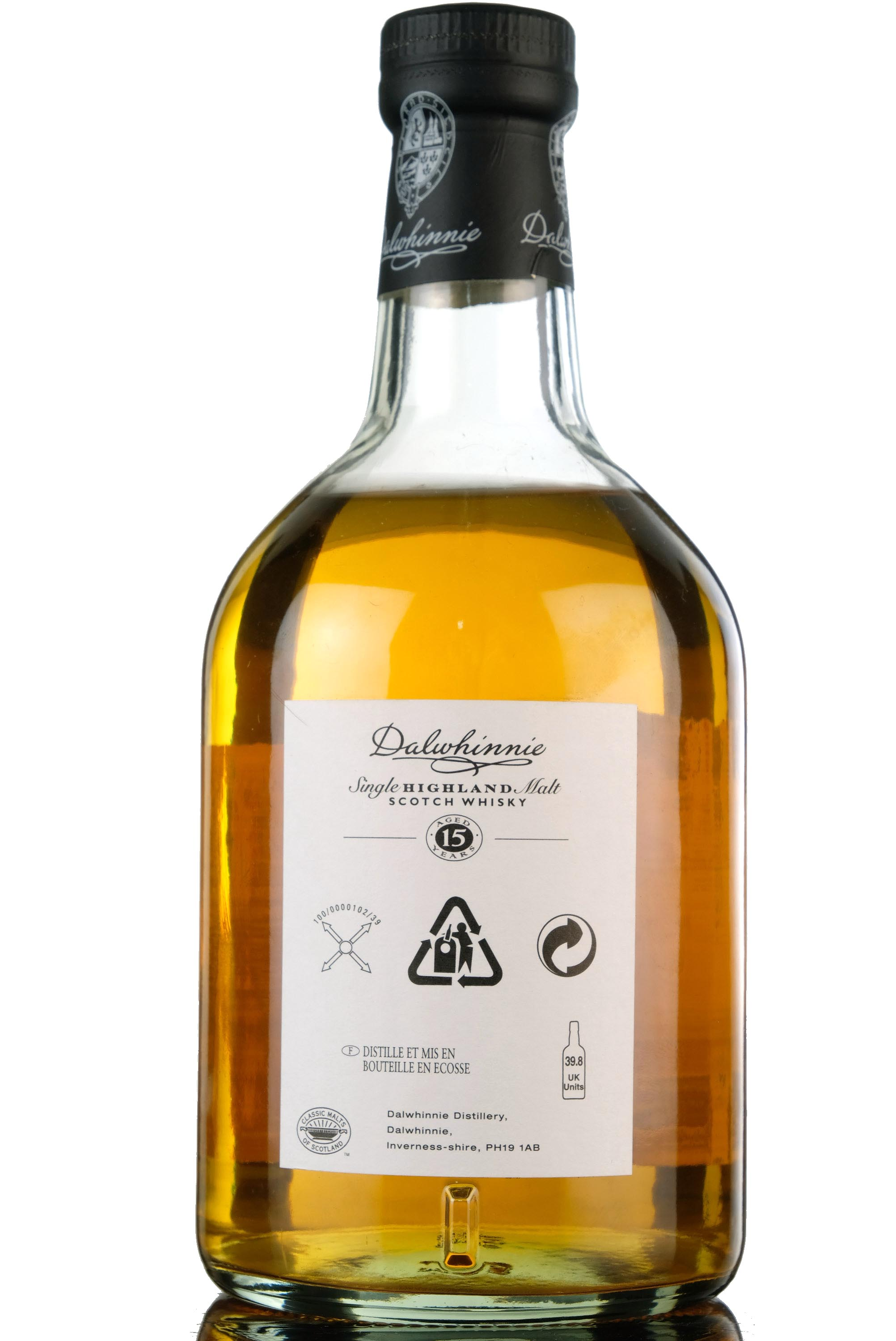 dalwhinnie 15 year old - cask strength