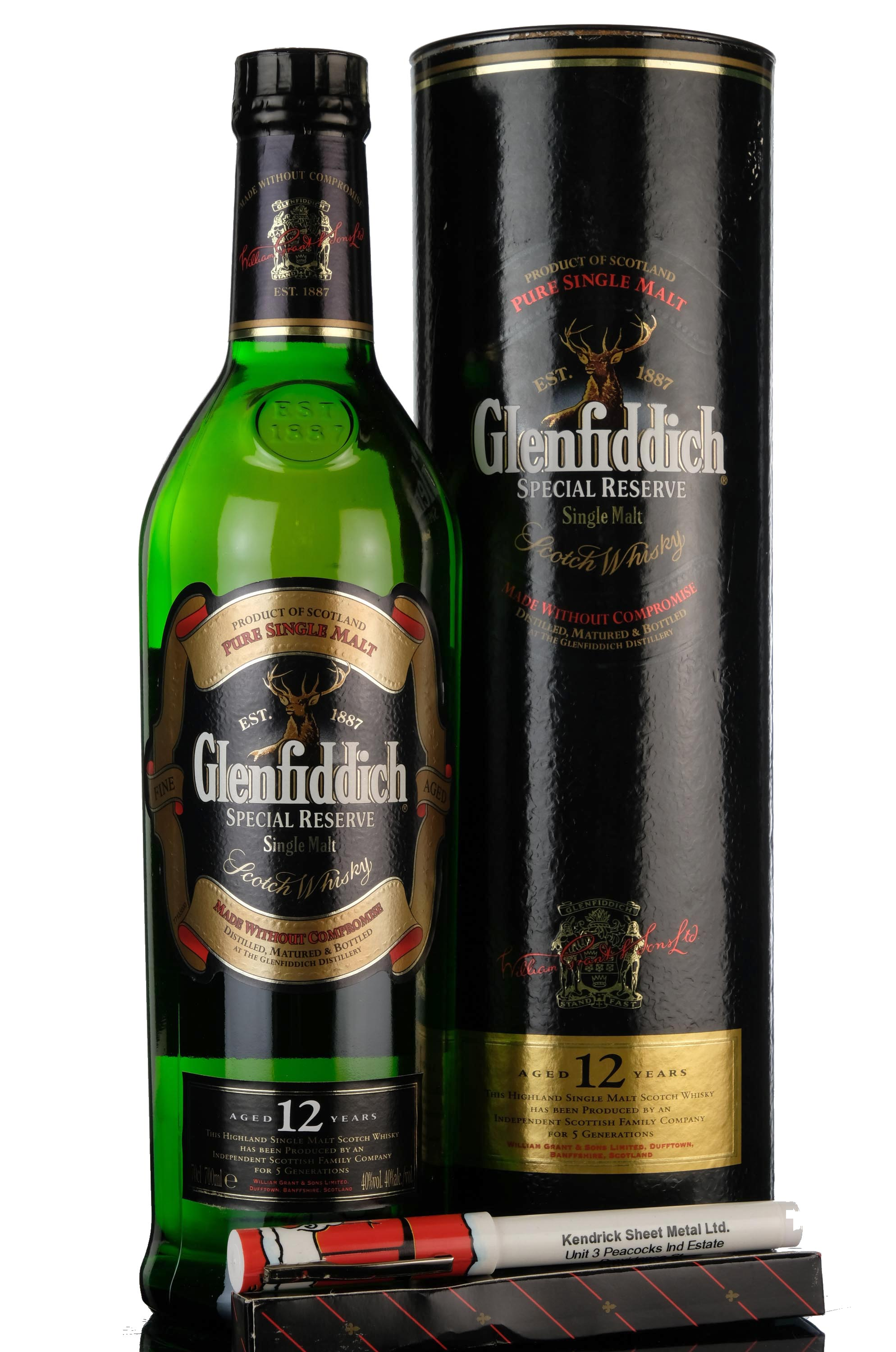glenfiddich 12 year old - special reserve