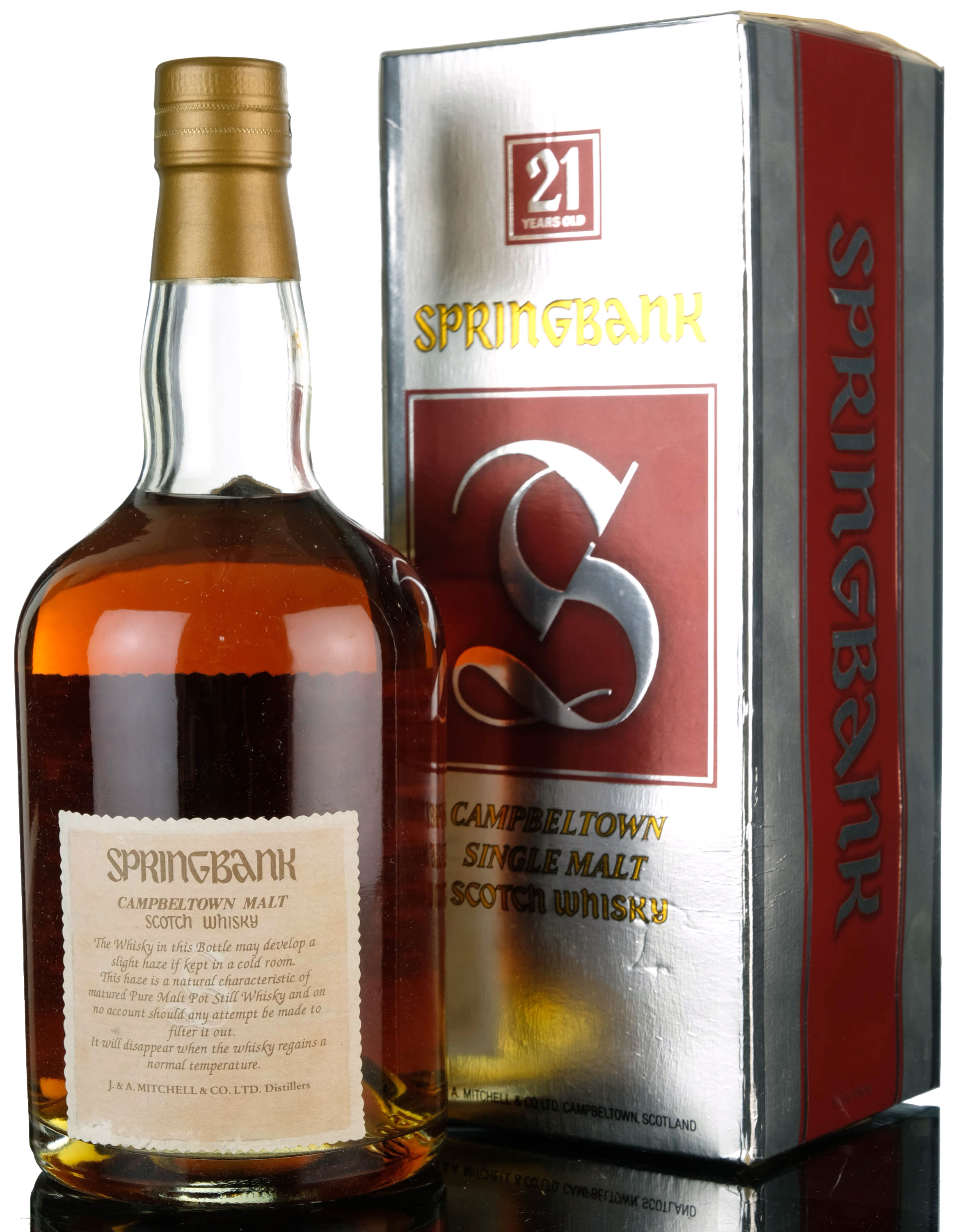 springbank 21 year old - 1990s