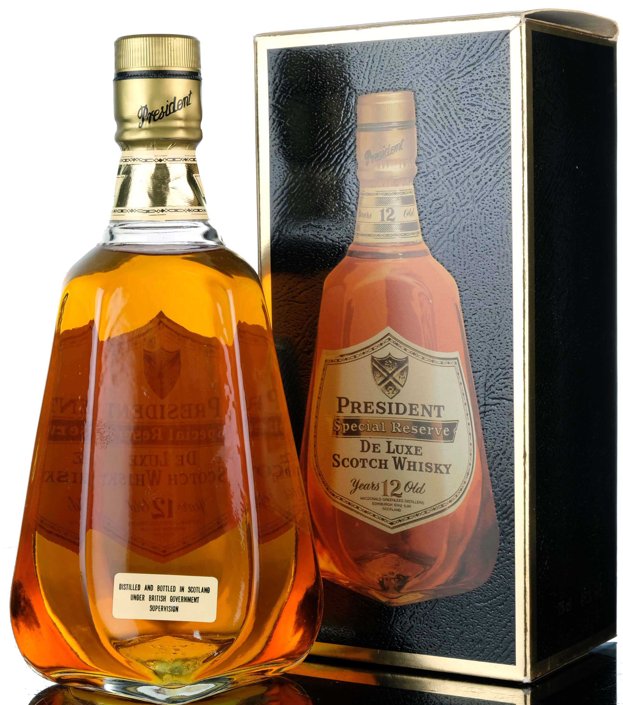 president 12 year old - special reserve