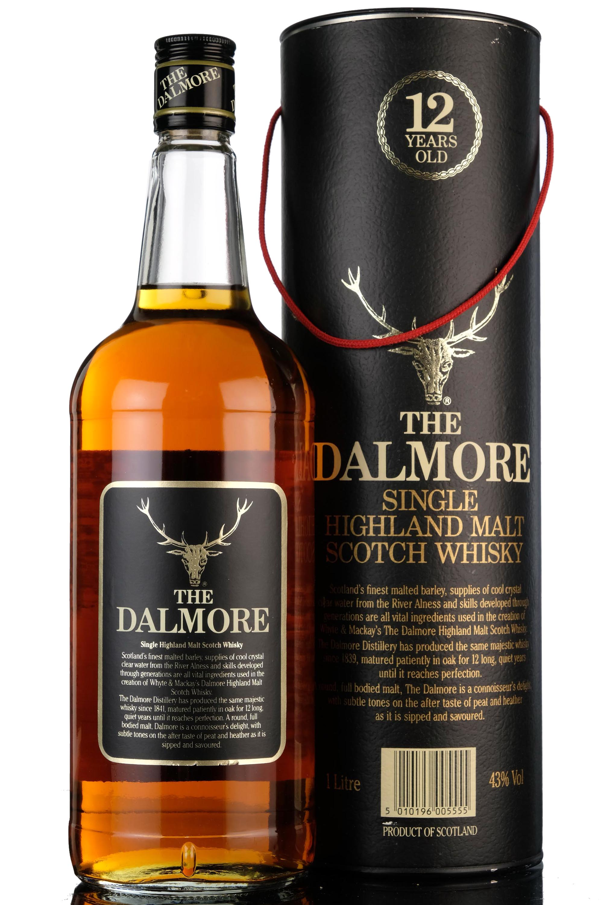 dalmore 12 year old - 1980s - 1 litre