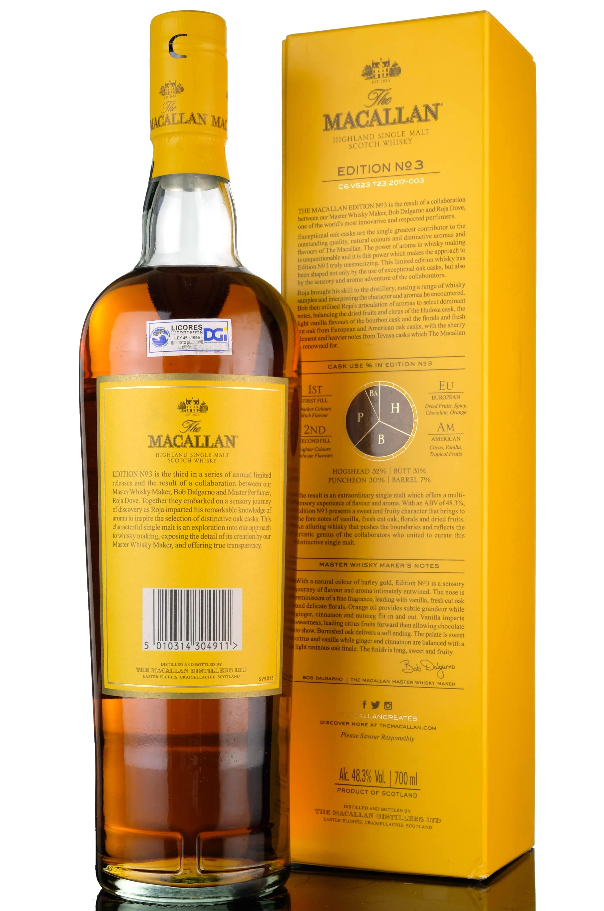 macallan edition no3