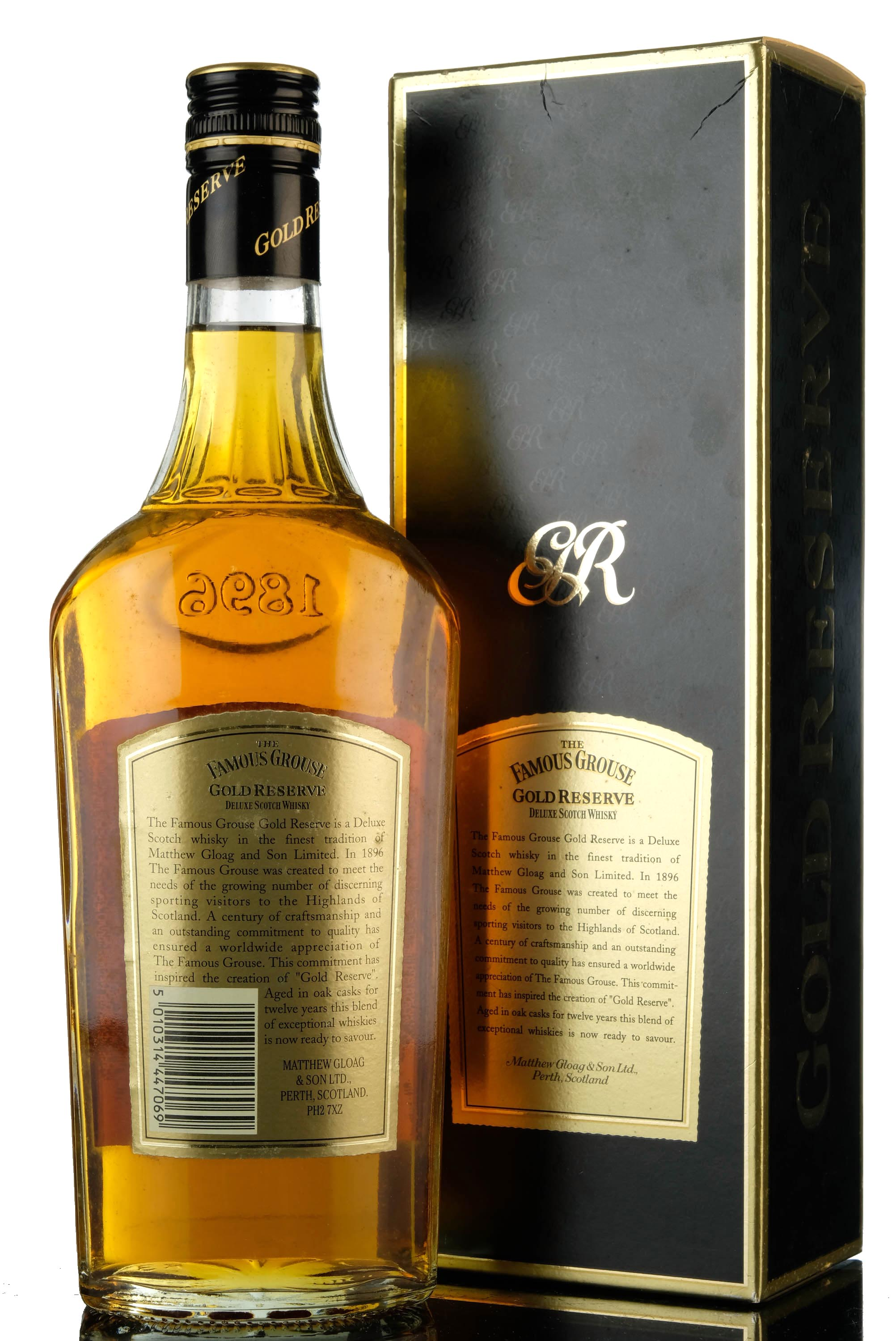 famous grouse 12 year old - gold reserve
