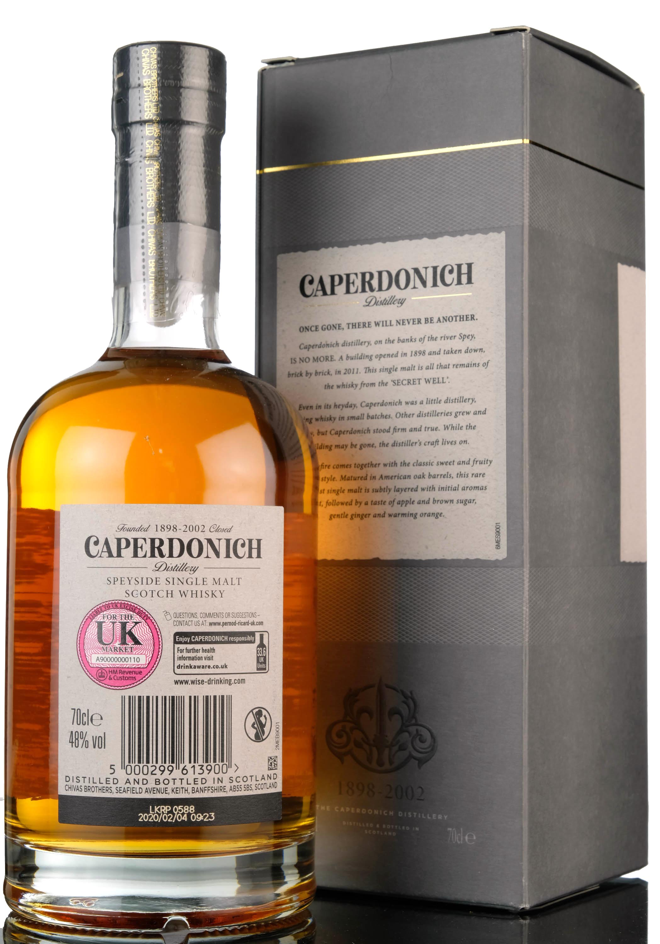 caperdonich 18 year old - peated