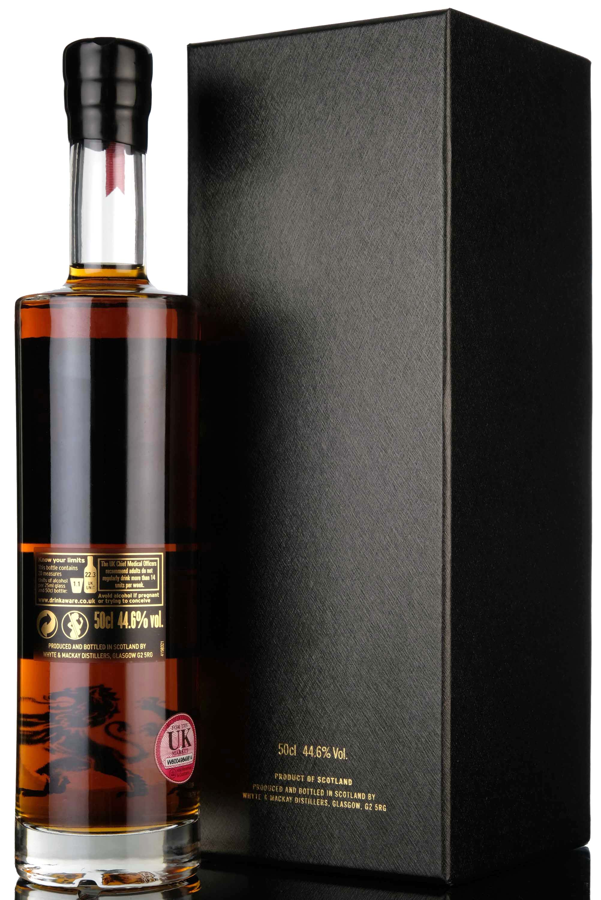 whyte & mackay 50 year old - 175th anniversary - 50cl