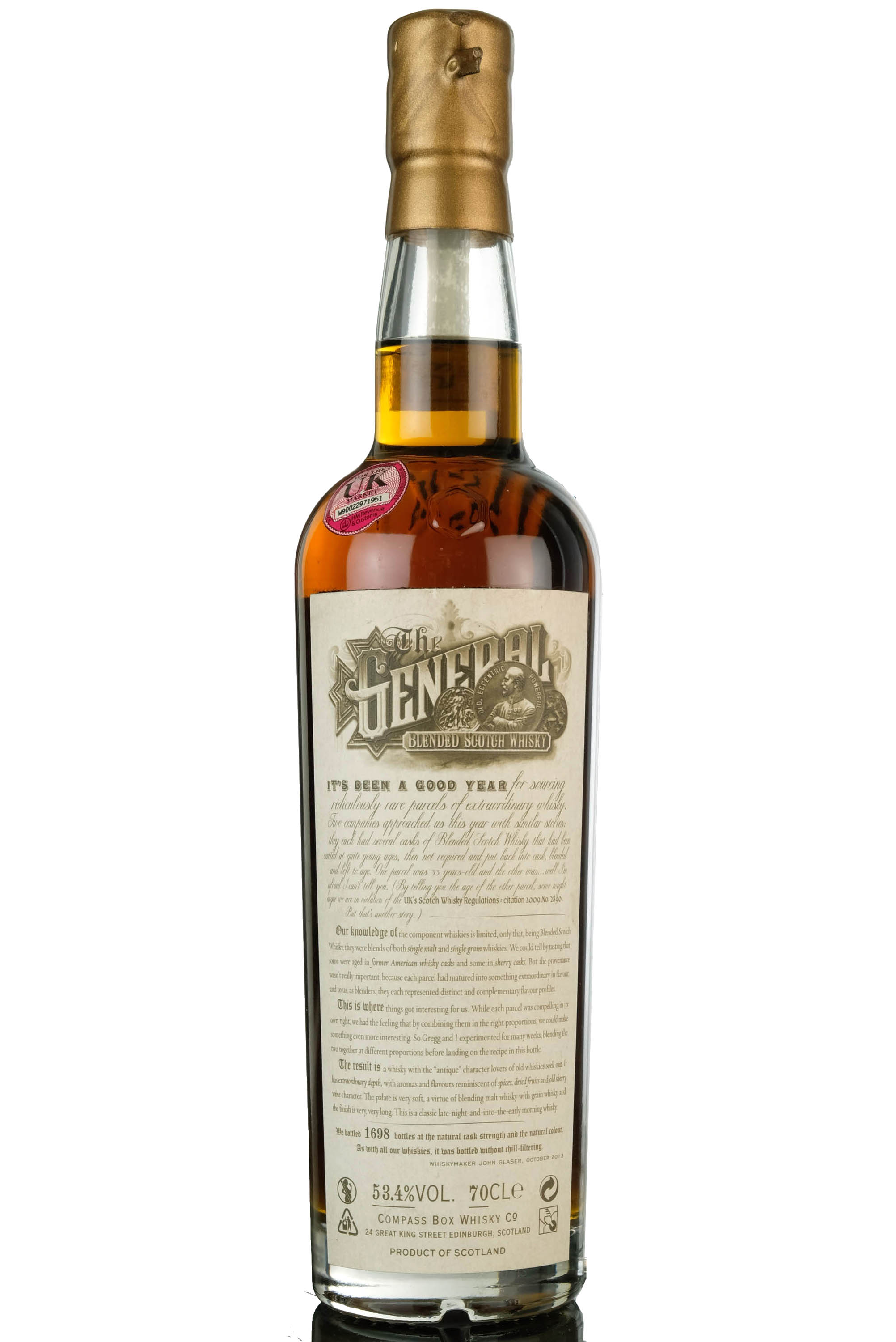 compass box the general - 33 year old