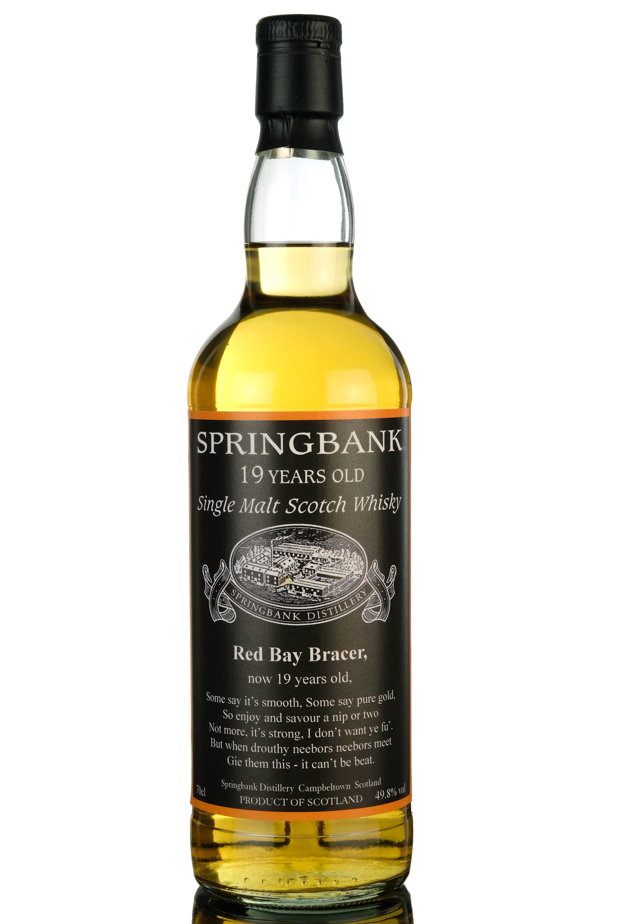 springbank 19 year old - red bay bracer