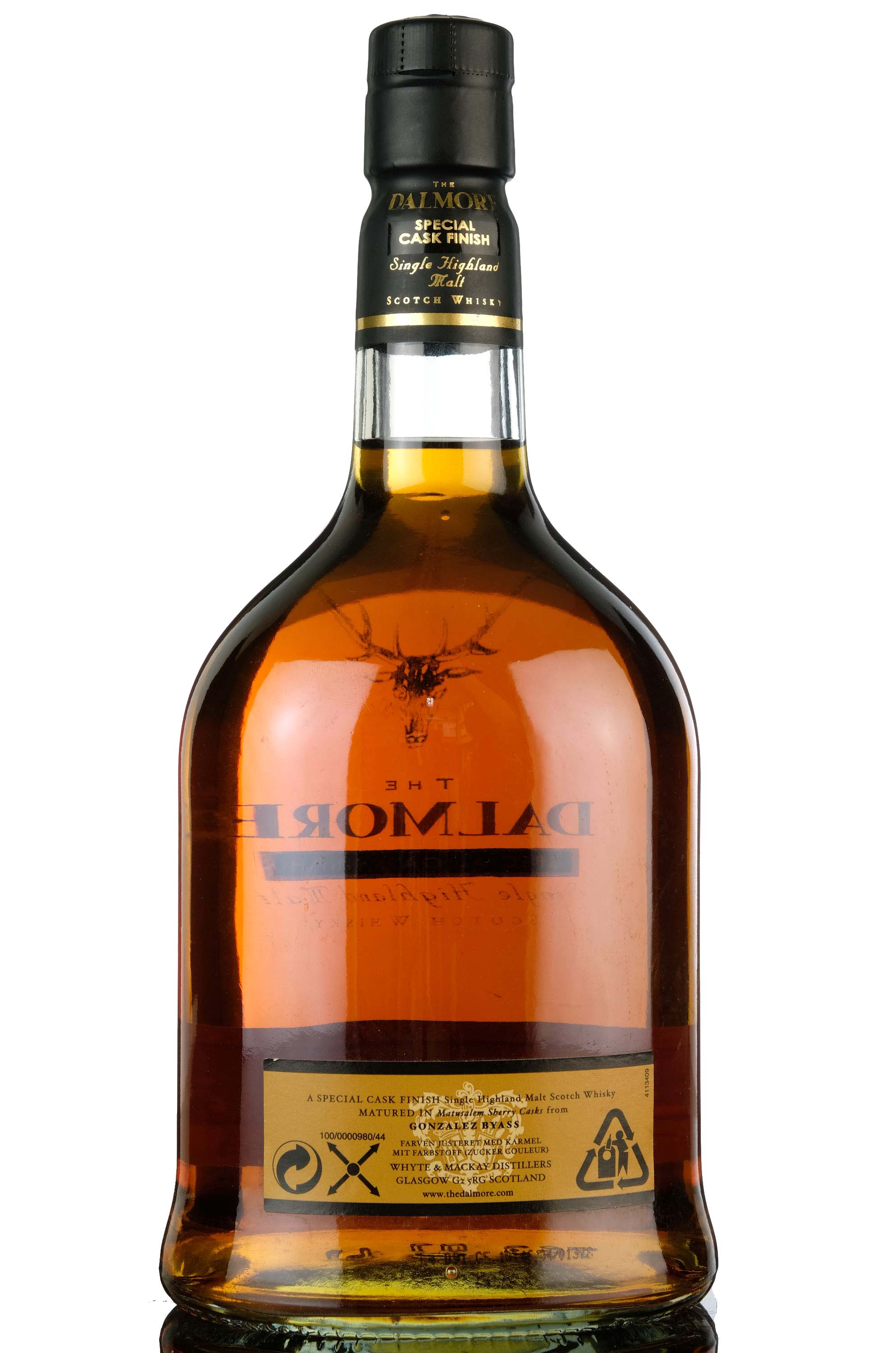 dalmore 1973 - 30 year old - gonzalez byass sherry casks