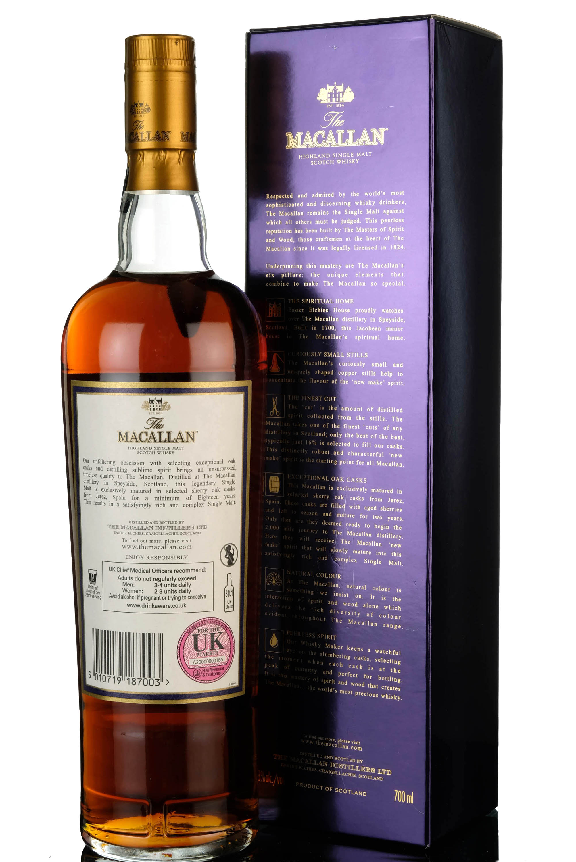 macallan 18 year old - 2016 release