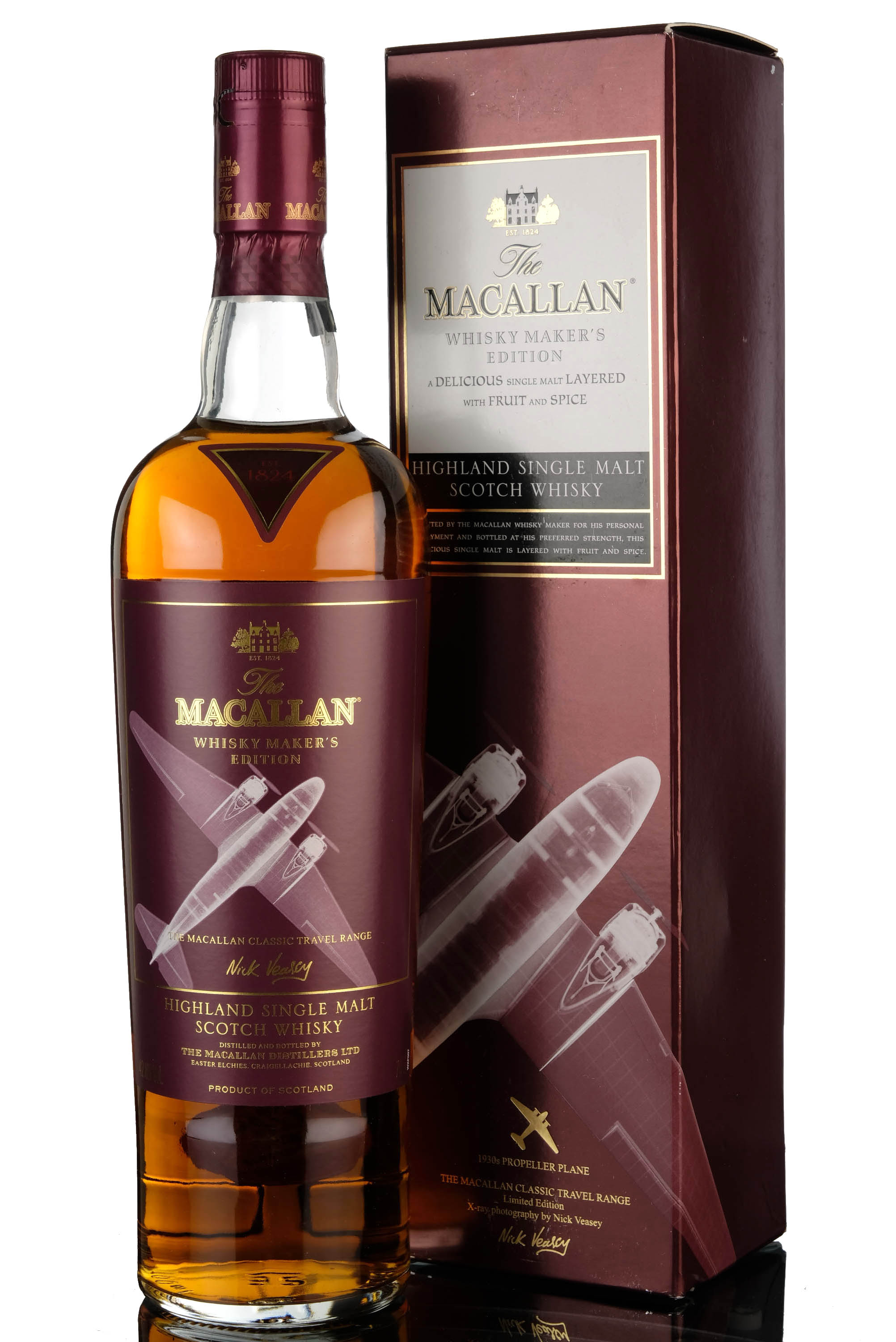 macallan whisky makers edition