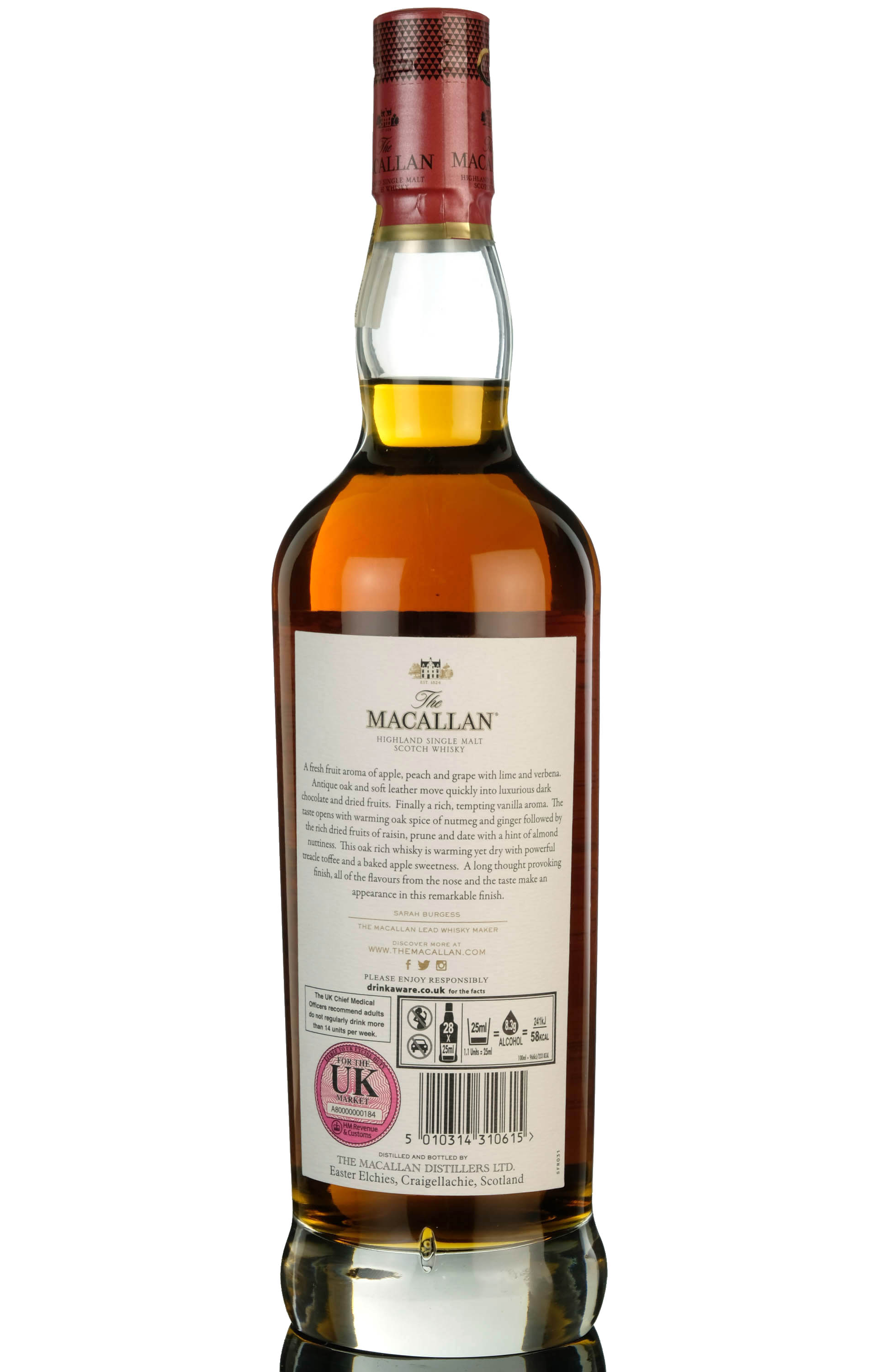 macallan 78 year old - red collection