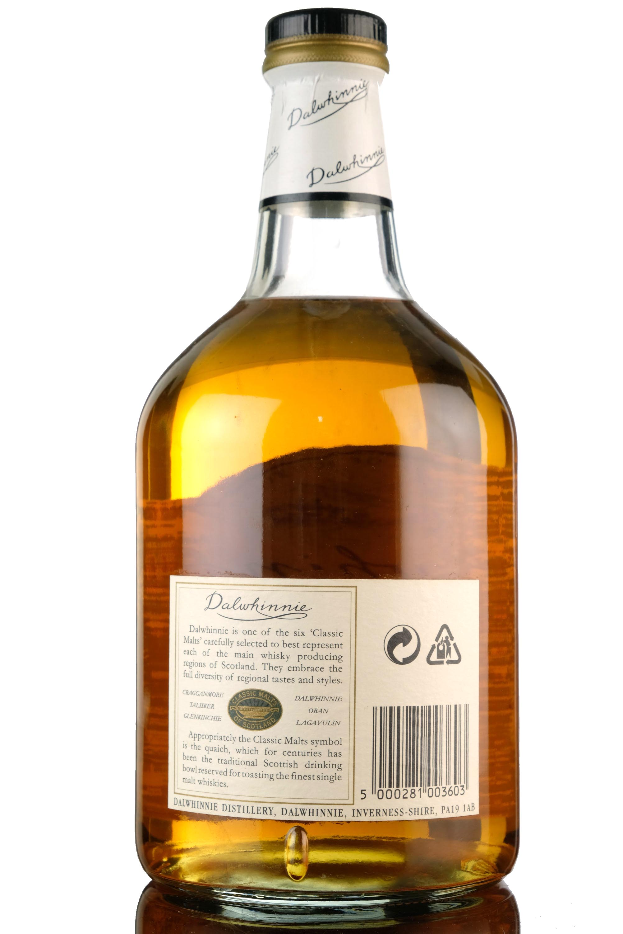 dalwhinnie 15 year old - 1 litre