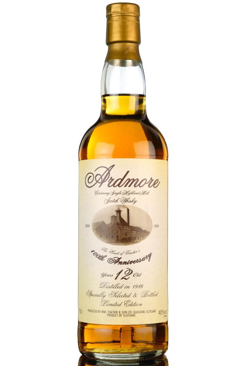 ardmore 12 year old - centenary