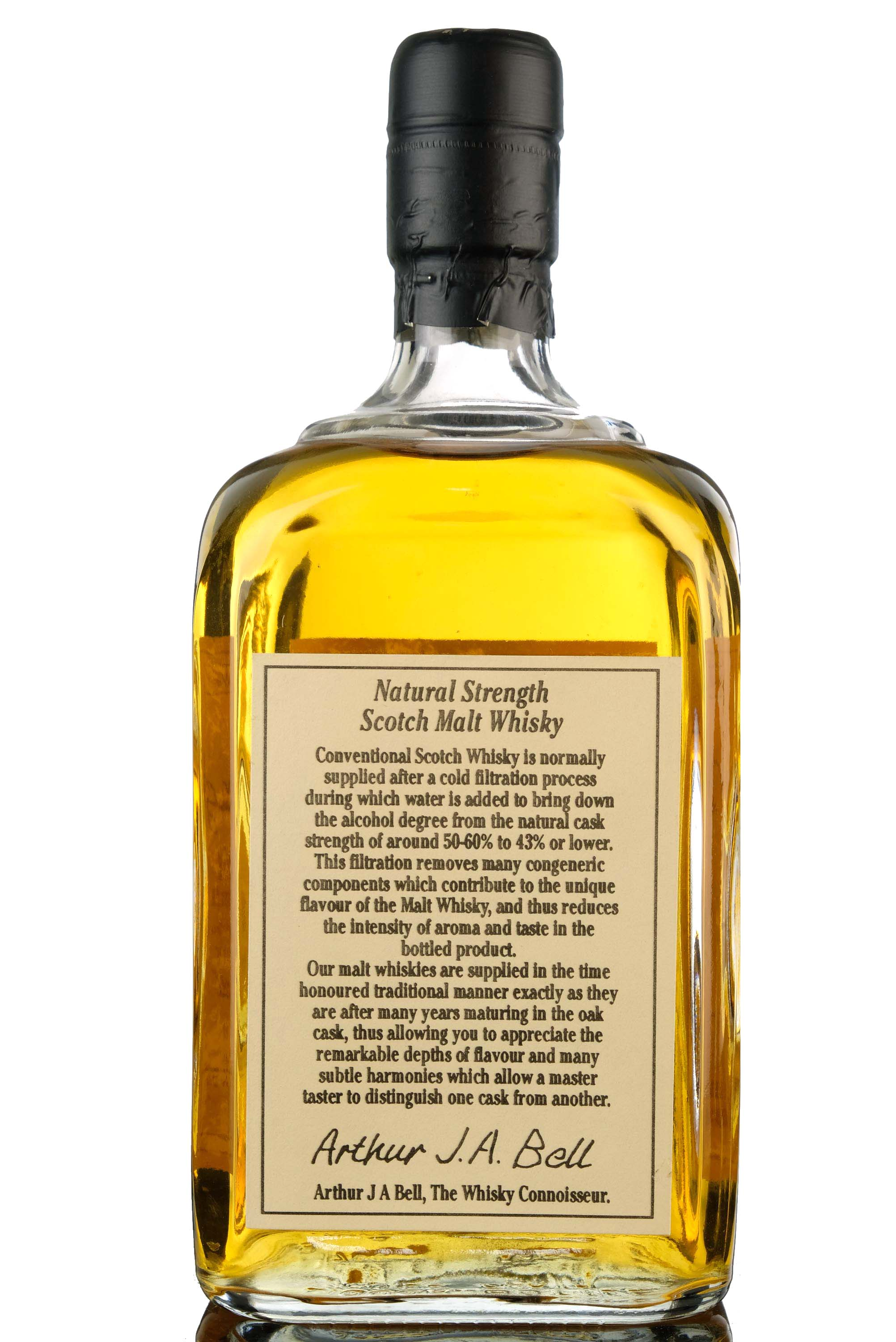 balmenach miltonhaugh 1966 - 28 year old - the whisky connoisseur - single cask 3154