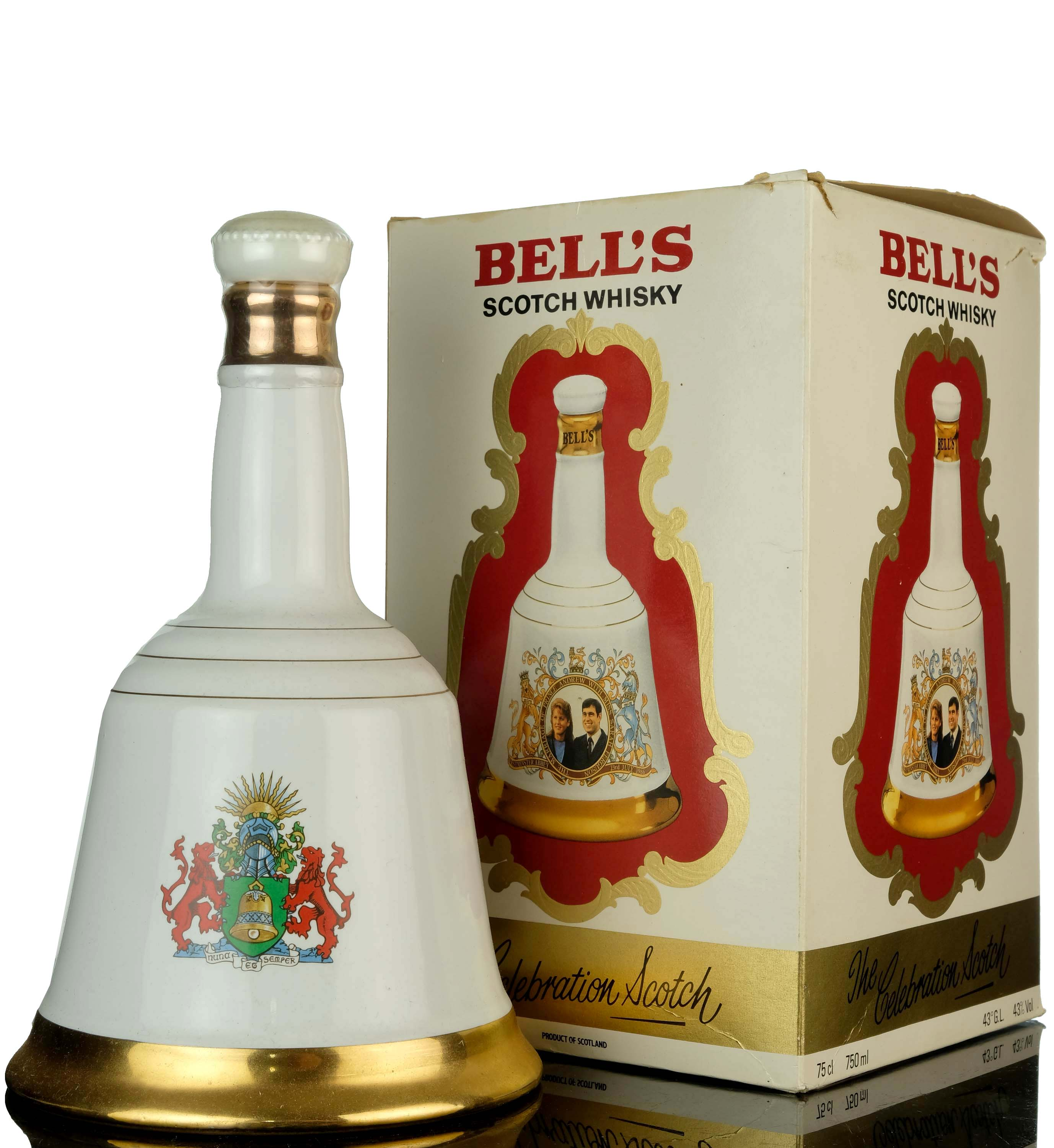 bells to commemorate the marriage of h.r.h prince andrew with miss sarah ferguson