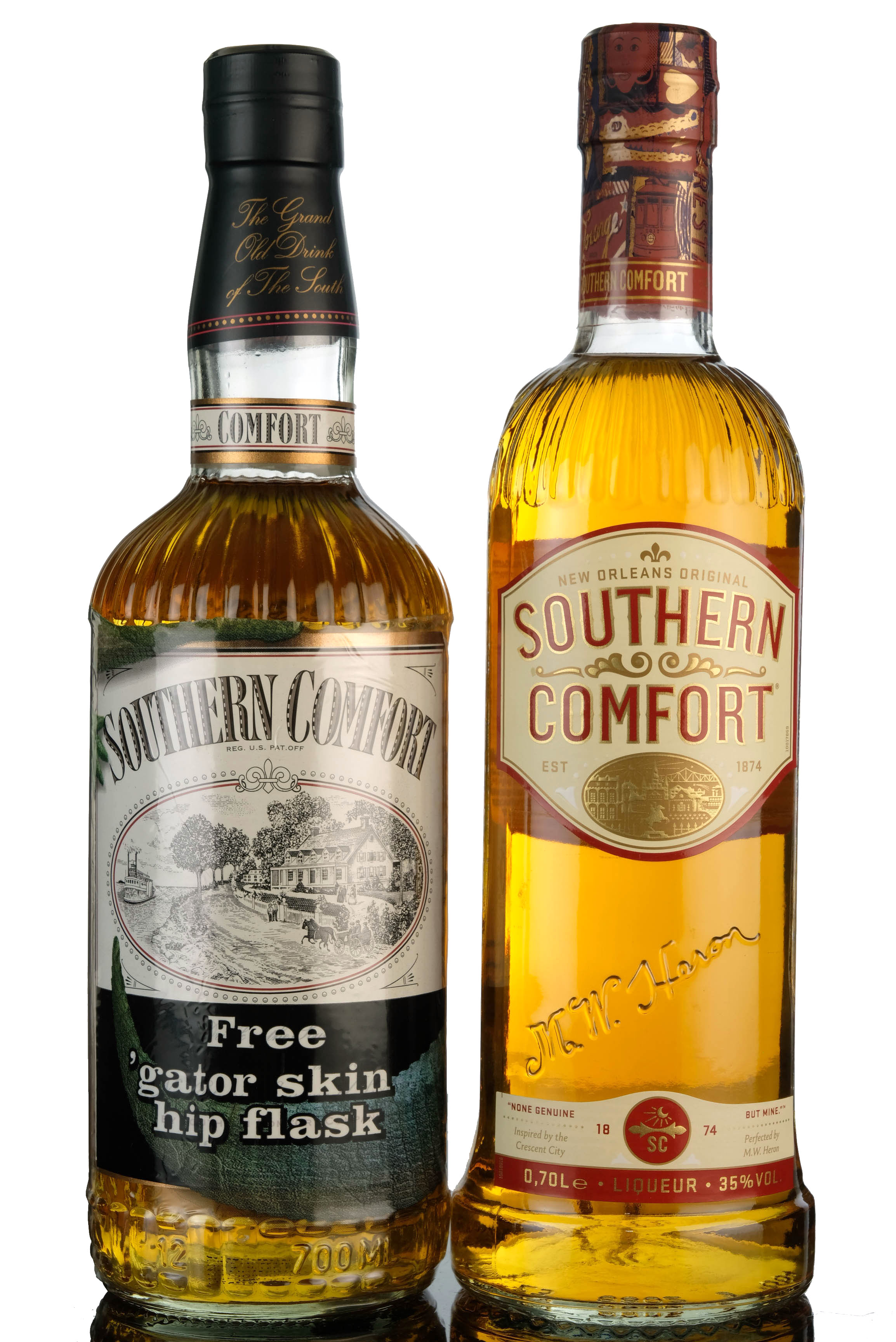 2 x southern comfort