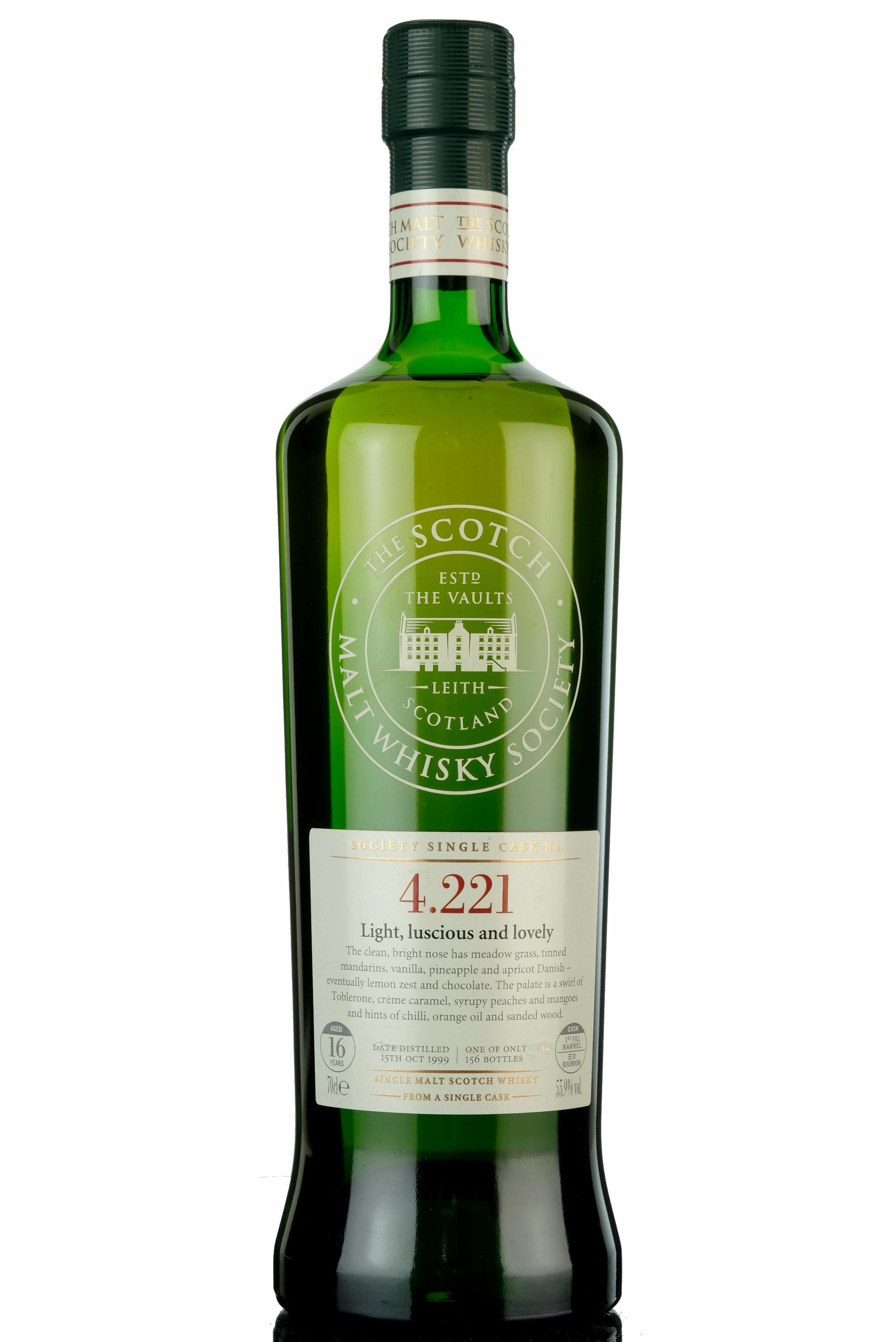 highland park 1999 - 16 year old - smws 4.221