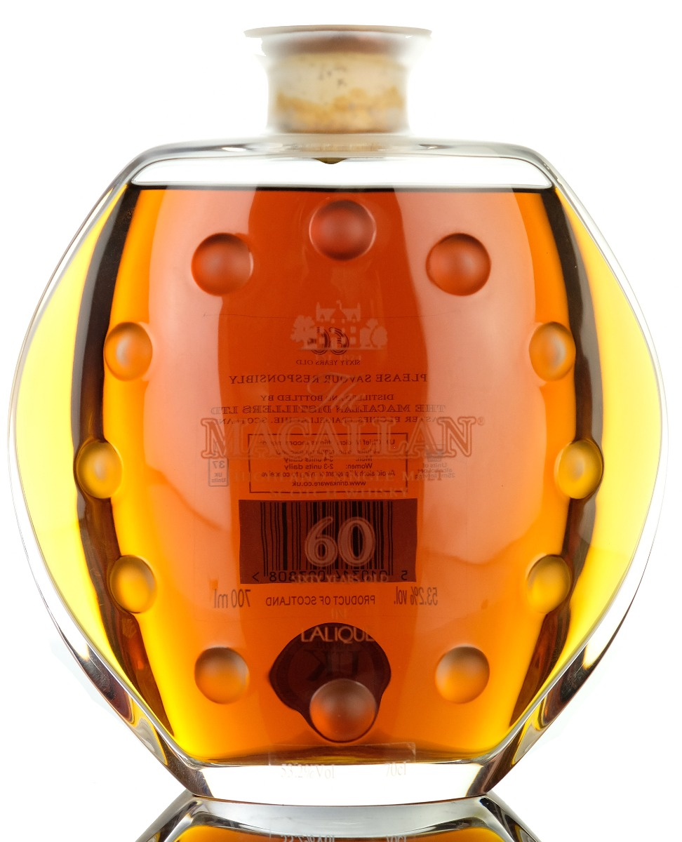 macallan 60 year old - lalique linley edition