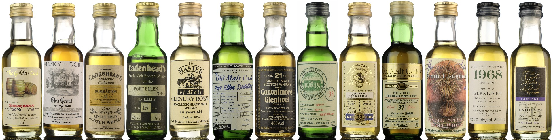dedicated whisky miniature auction