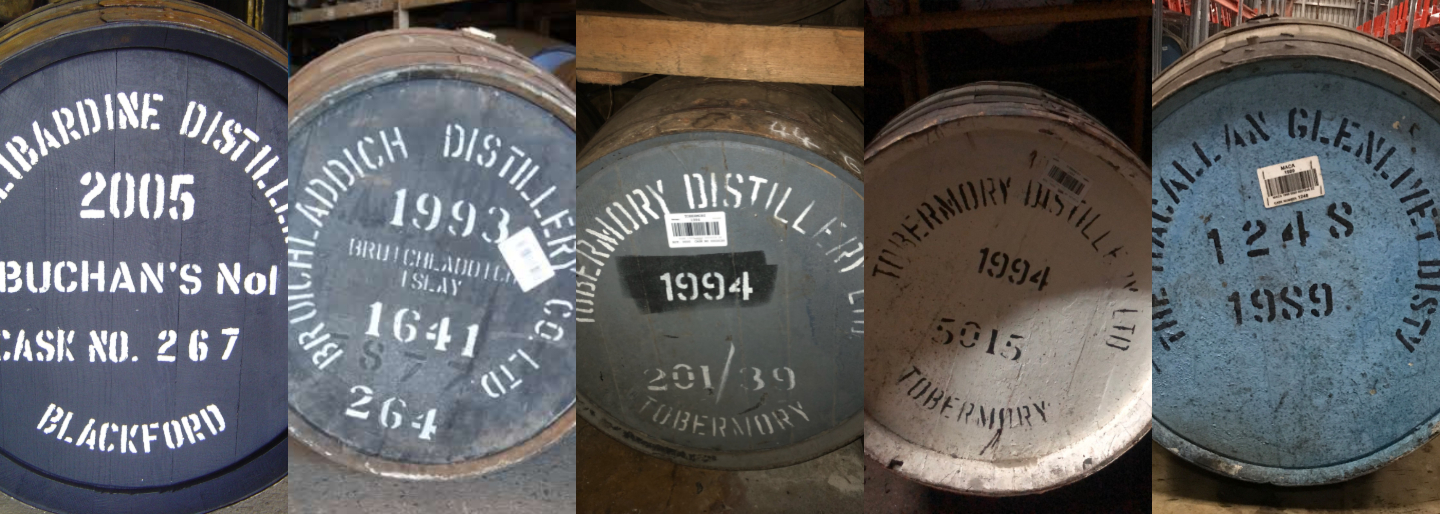 Whisky Casks Sold In Auction